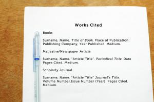 In Text Citation Mla Format Poem