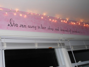 tumblr teenage bedroom wall quotes