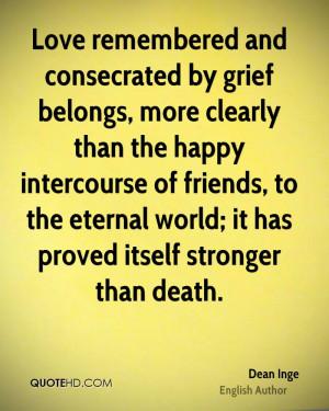 Dean Inge Quotes