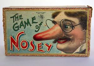 like nosey nosey