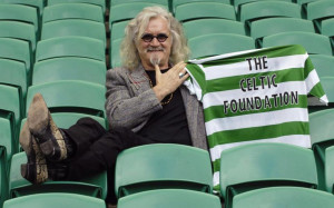 In 2007 Celtic named Scottishedian Billy Connolly as a patron of