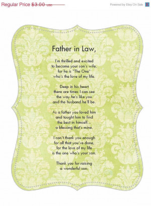 Father in Law Birthday Poems
