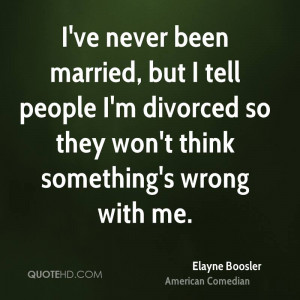 Elayne Boosler Funny Quotes