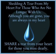 For my lost loved ones gone but not forgotten :'( More