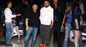 Abhishek Bachchan celebrates Kunal Kapoor, Naina Bachchan's wedding