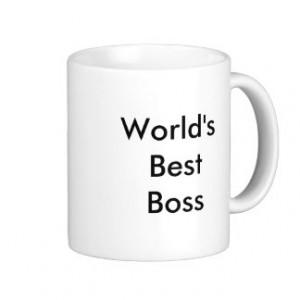 Boss Quotes Mugs
