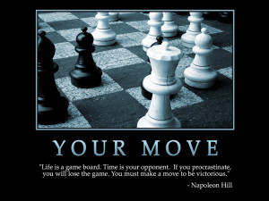 Motivational wallpaper on Life : Life is a game board Quote by ...