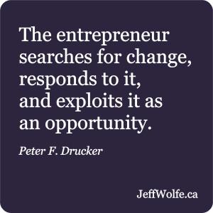 Peter F. Drucker Inspirational Quote