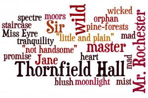 Jane Eyre Word Art (Free Printable)