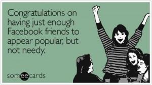 Funny Congratulations Ecard: Congratulations on having just enough ...
