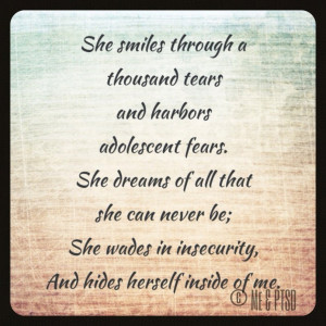 Depressed Quotes And Sayings: She Smiles Through A Thousand Tears ...