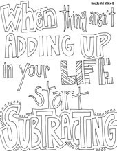 ! Color Pages Quotes, Classroom, Kids Color, Doodles Quotes, Quotes ...