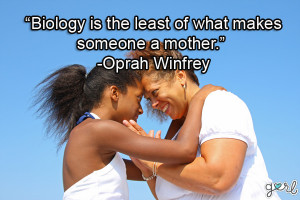 ... is the least of what makes someone a mother. - Mother Daughter Quotes