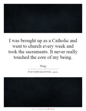 Sacraments Quotes