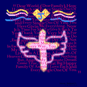 Quotes Picture: one god one world one big happy family