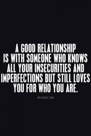 Insecurity In Relationships Quotes. QuotesGram