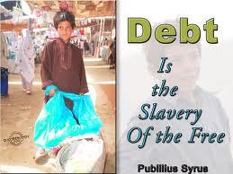 Quotes about Debt – Debt Quote – Being in Debt – Debt Burden ...