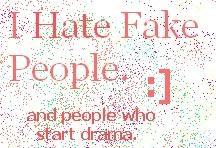 quotes sayings fake people drama Image