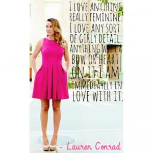 Lauren Conrad Quote