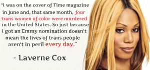 Laverne Cox (Lavernecox) on Twitter