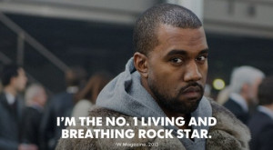 collection of the best egotistic Kanye West quotes