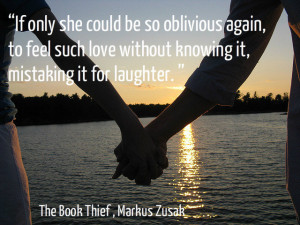 If only she could be so oblivious again, to feel such love without ...
