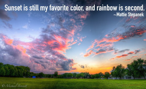 sunset-quotes-Mattie-Stepanek-favorite-color