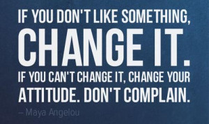 change your attittude quote