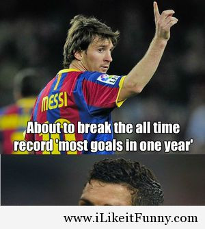 Ronaldo vs Messi funny photos