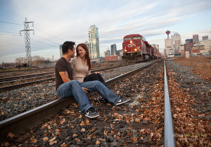 ... train tracks wallpapers | couples love | love quotes | couple in love