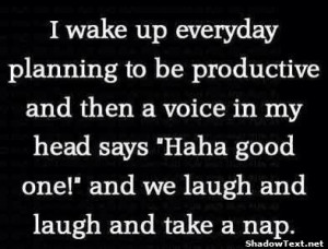 Laugh and Take a Nap