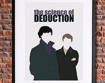 , Sherlock Quote | I nstant Download Printable | Science of Deduction ...
