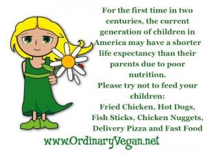 Children & poor nutrition