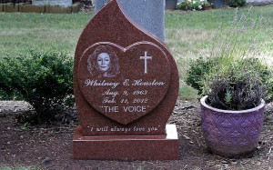 Whitney Houston's Gravestone Revealed: See What It Says