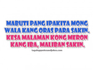 Bitter Tagalog Love Quotes 2