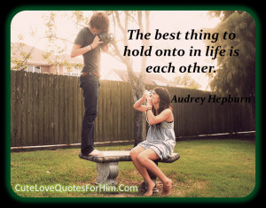 Love Quotes For Him #86