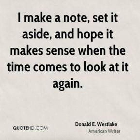 donald e westlake donald e westlake i make a note set it aside and jpg