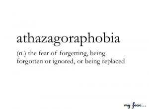 fear #forget #paura #dimenticare