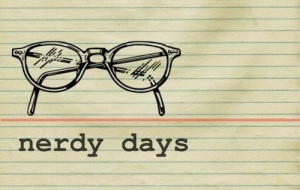 ... and white, design, diy, geek, glasses, illustration, nerd, nerdy days