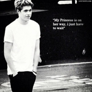 Niall Horan Quotes Princess
