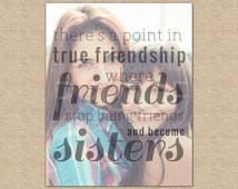 Friendship Quote,Best Friend Birthday Gift,Best Friend Gift // Special ...