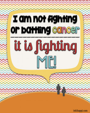 Those That Fighting Cancer Inspirational Quotes