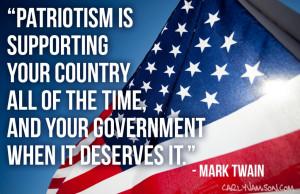 memorial day quote mark twain