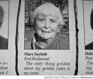 funny old people sayings