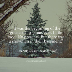 quotes quote of the day from markus zusak s the book thief on december ...