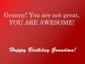 Happy Birthday Great Grandma Quotes
