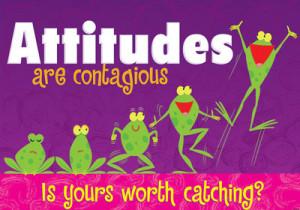 Attitudes are contagious