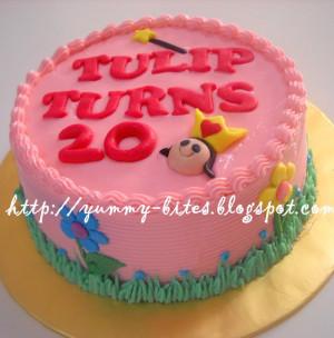 Happy 20th Birthday Tulip