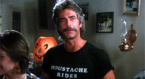 Here's an article about The Magic Movie Mustache of Sam Elliott,