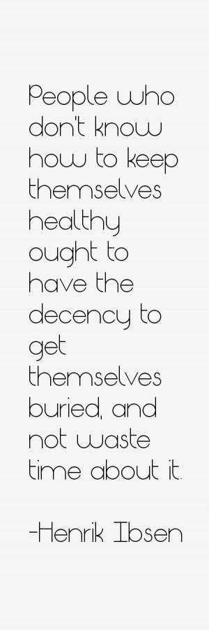 Henrik Ibsen Quotes amp Sayings